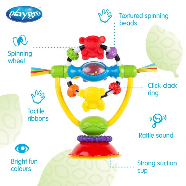 182212 High Chair Spinning Toy