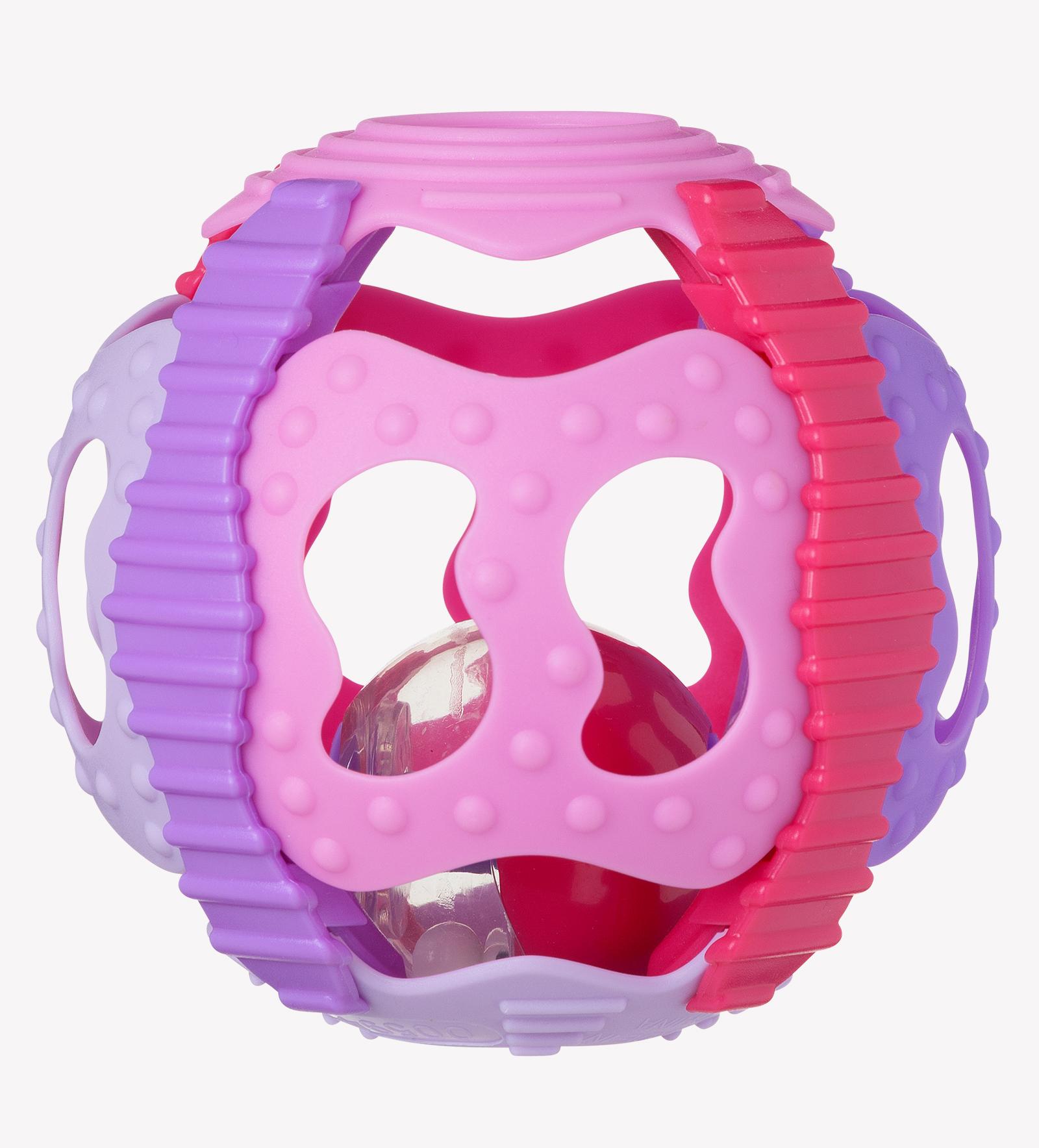 Shake Rattle & Roll Ball (Pink)