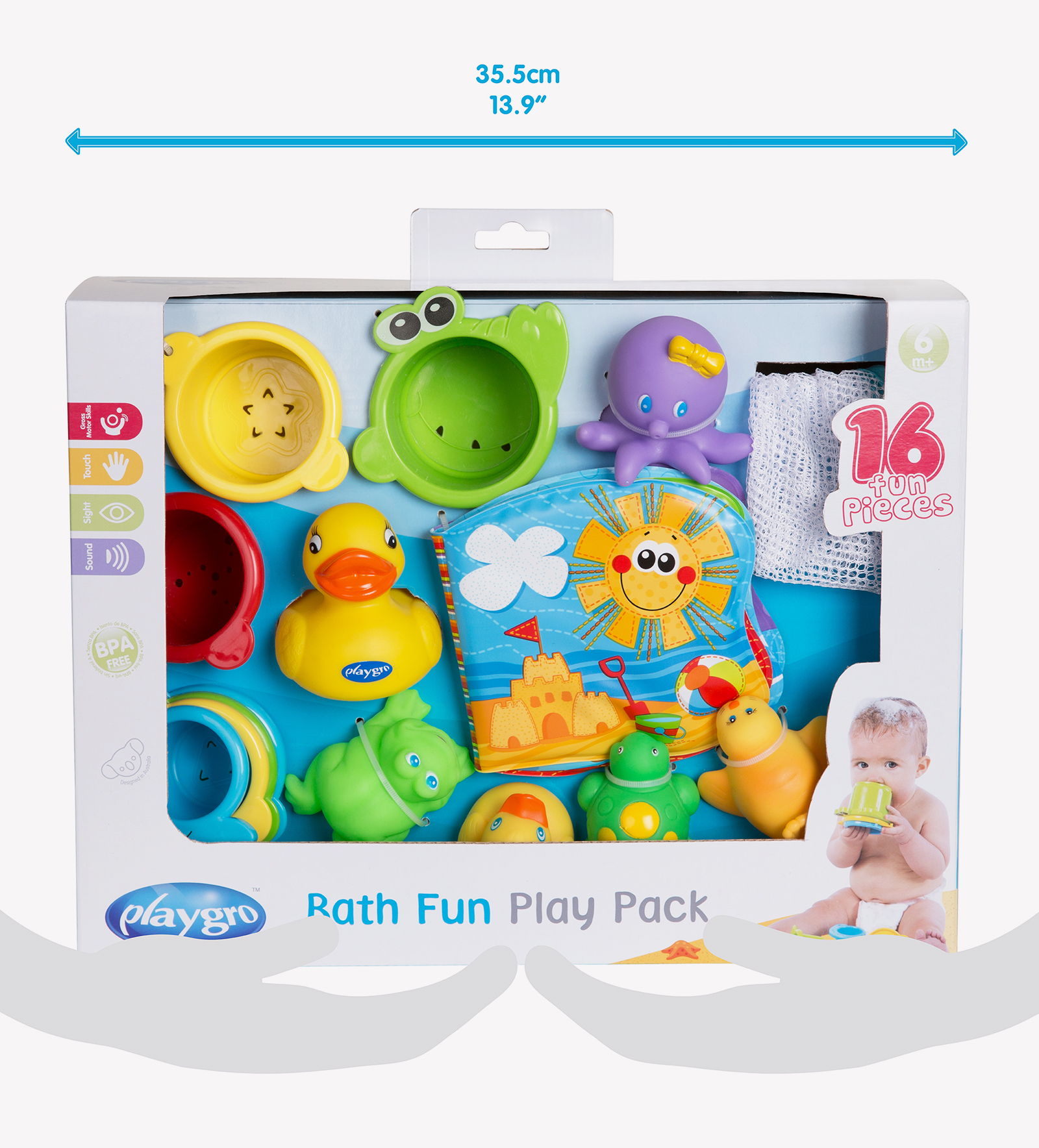 Bath Fun Play Pack 4