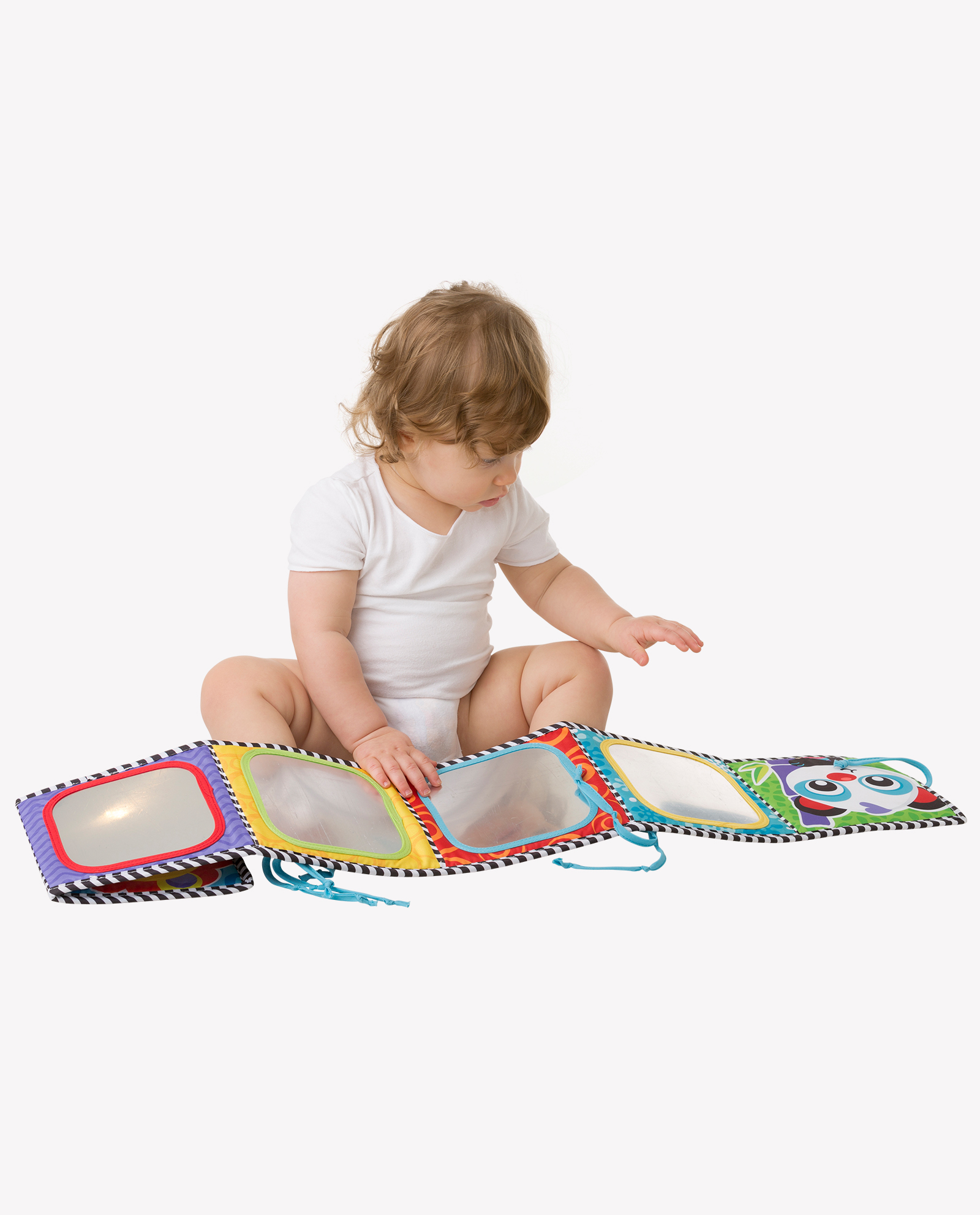 Convertible Tummy Time Mirror and Book